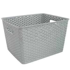 Geometric 19L Mint Basket