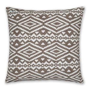 Aztec Cushion 58x58cm - Natural