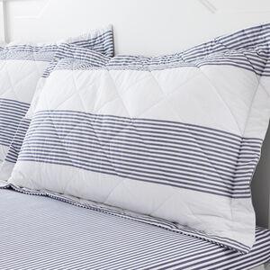 Smyth Oxford Pillowcase Pair - Blue