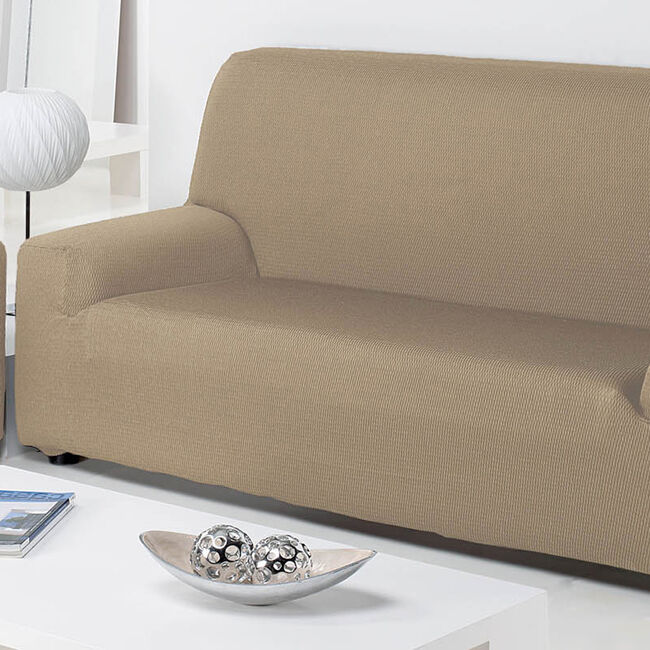 Easystretch 2 Seater Sofa Cover Linen
