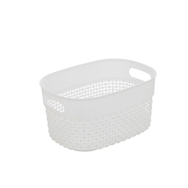 DOT Storage Basket 3.5L - White