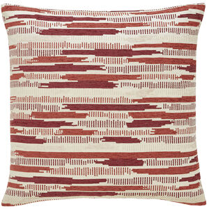 Incandescent Rust 58x58 Cushion