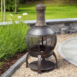 1.2M Cast Iron Chimenea