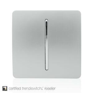 Trendi 1 Gang 2 Way Wall Switch - Silver
