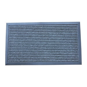 Esteem Stripe Charcoal Door Mat