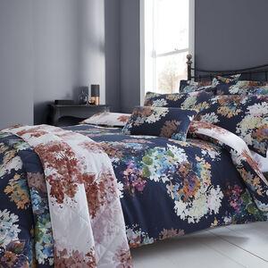 Jacinta Navy Bedspread