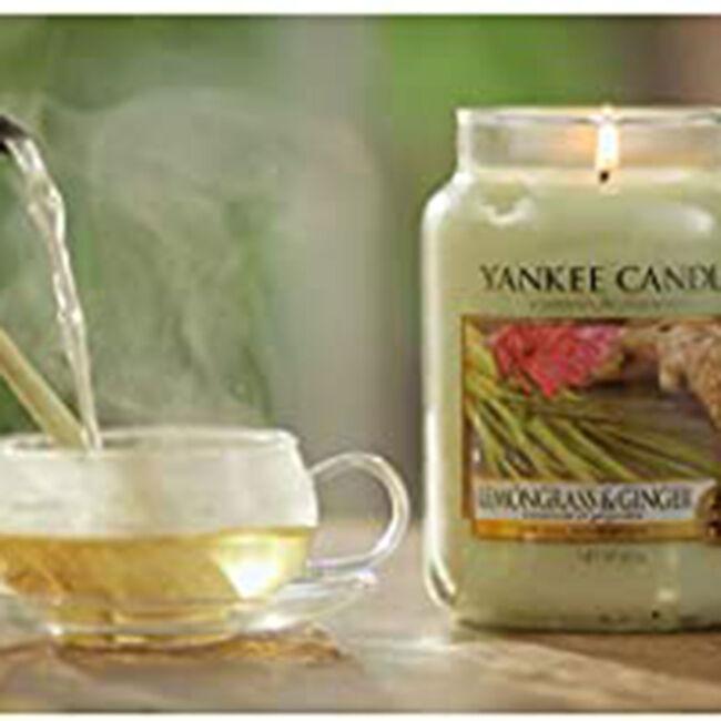 Yankee Lemongrass and Ginger Small Jar