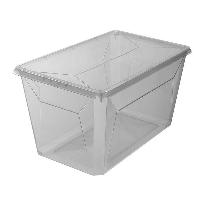 Ezy Storage Tall Shoe Box 12.2L - Grey