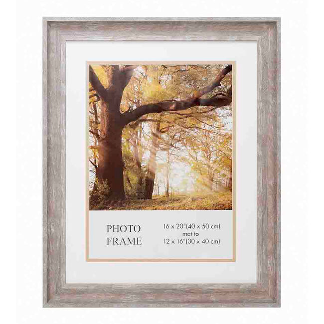 Dawn Photo Frame with Mount 12x16""