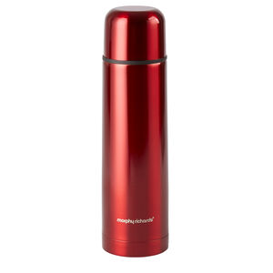 Morphy Richards 500ml Red Vacuum Flask