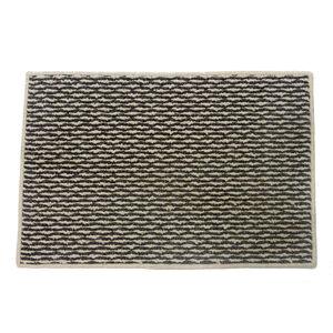 Sahara Ivory & Charcoal Doormat 40x60cm