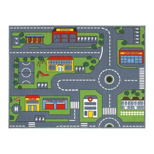 Road Map Childrens Floormat