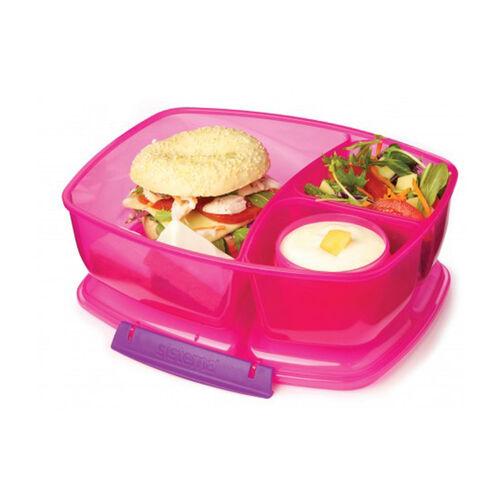 Sistema Triple Split Lunch Box