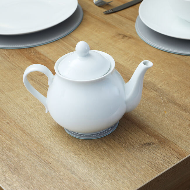 ABNEY & CROFT WHITE Tea Pot