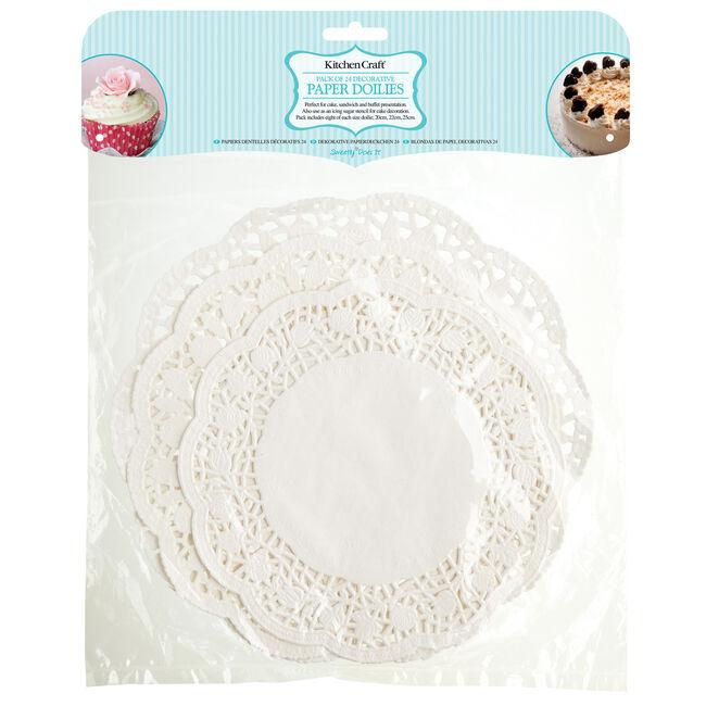 Kitchen Craft White Paper Doilies Set