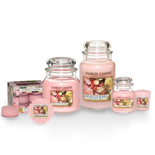Yankee Candle Fresh Cut Roses Medium Jar