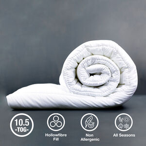 Hollowfibre Duvet Single