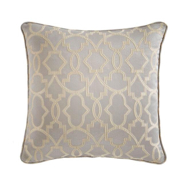 Gatsby Cushion 45x45cm - Blue/Gold