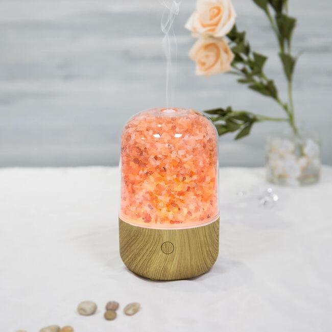 Aeromatic Ultrasonic Salt Lamp Aroma Diffuser