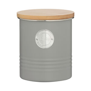 Typhoon Living Coffee Cannister Grey 1L