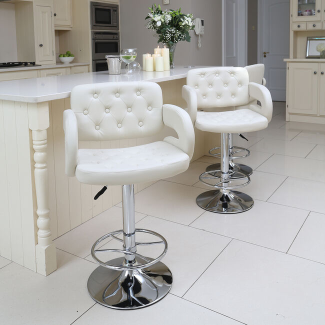 Clarendon Bar Stool Cream