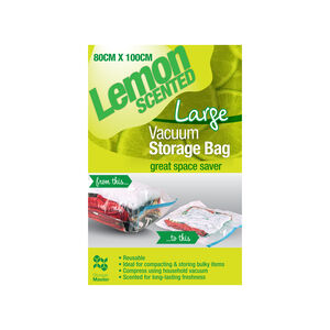 Lemon Scented Vacuum Bag 80x100cm