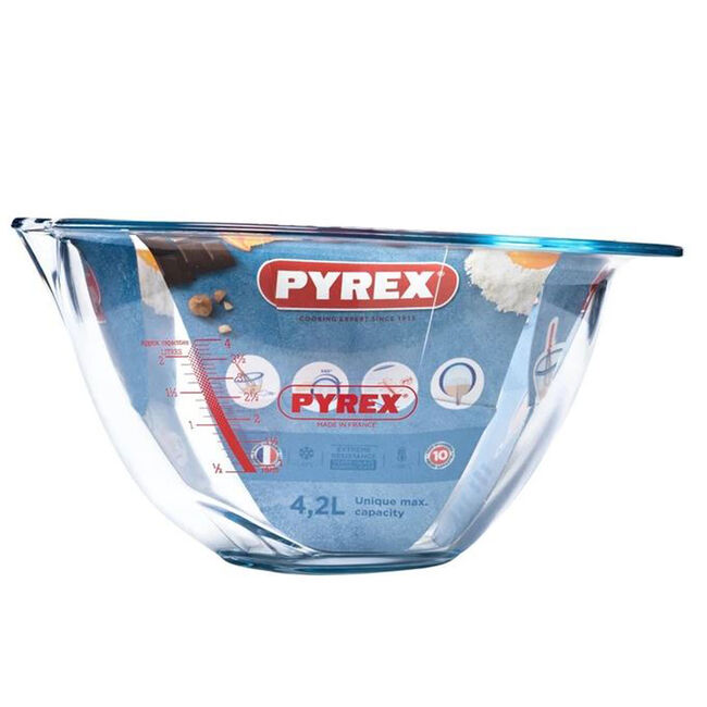 Pyrex Bowl With Gradients 4.2L