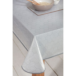 Geo Grey Table Cloth