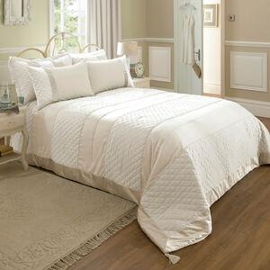 Classic Velvet Cream Bedspread