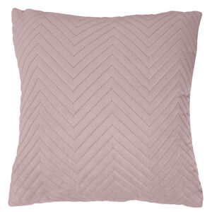 Triangle Stitch Cushion 58x58cm - Mauve