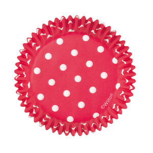Wilton Cake Cases 75Pc Red