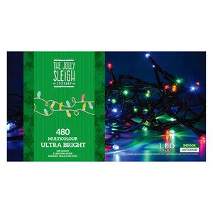 480 Multi-Colour Ultrabright LED Lights