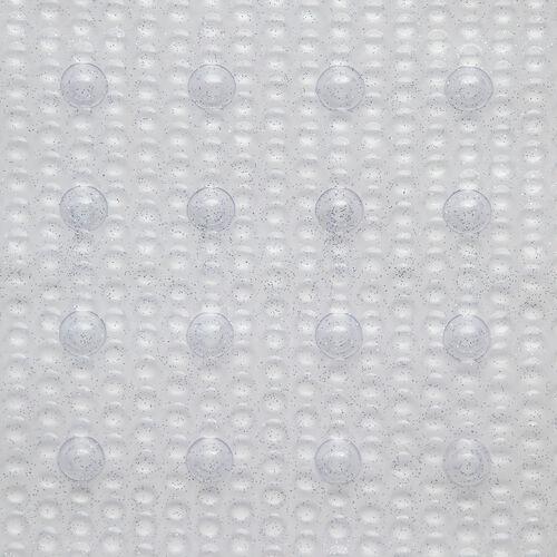 Sparkle Shower Mat 53x53cm - Silver