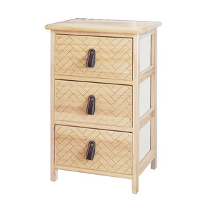 HerringBone 3 Drawer Unit