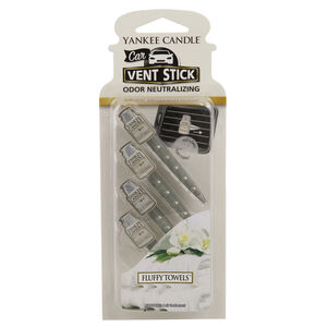 Yankee Candle Fluffy Towels Vent Sticks