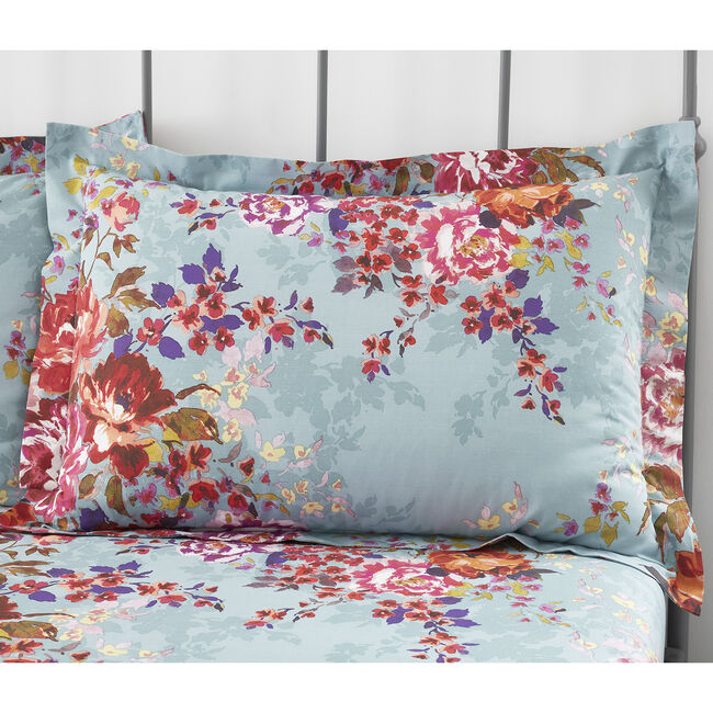 Sadie Oxford Pillowcase Pair - Blush
