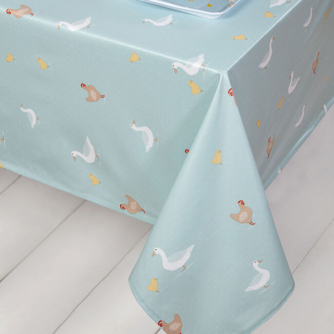 Country Farm PVC Table Cloth 160x230cm
