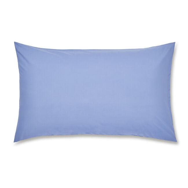 Luxury Percale Housewife Pillowcase Pair - Cornflower