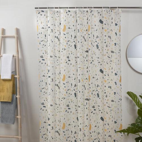PEVA Terrazo Multi Shower Curtain