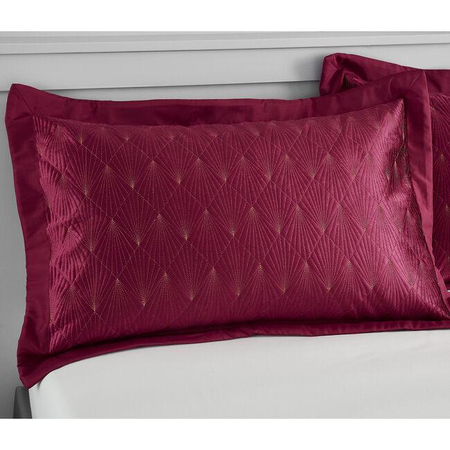 Harlow Pillowshams 50x75cm - Berry