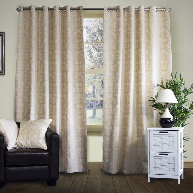 SHELBOURNE NATURAL 66x54 Curtain