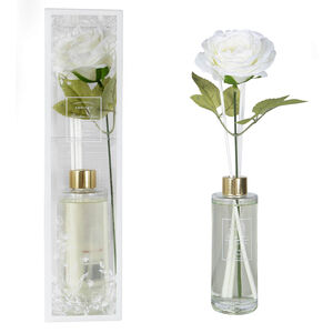 Ambianti Clean Cotton Faux Flower Reed Diffuser