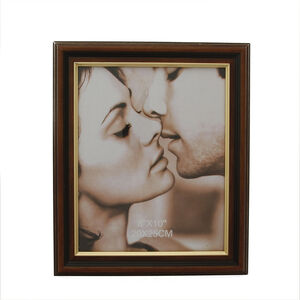 Brown & Gold Photo Frame 8x10""