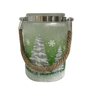 Green Christmas Tree Lantern