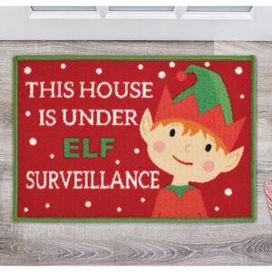 Elf Surveillance Doormat 40 x 60cm