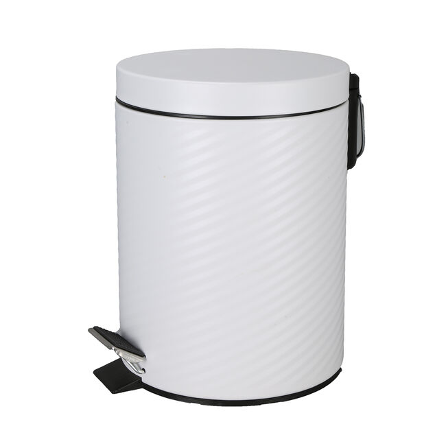 White Stripe Bin 3L