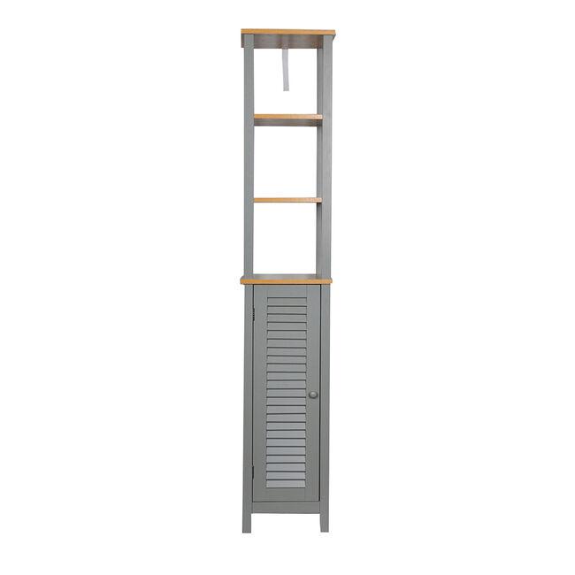 Darcy Grey Tallboy W30 D30 H170cm