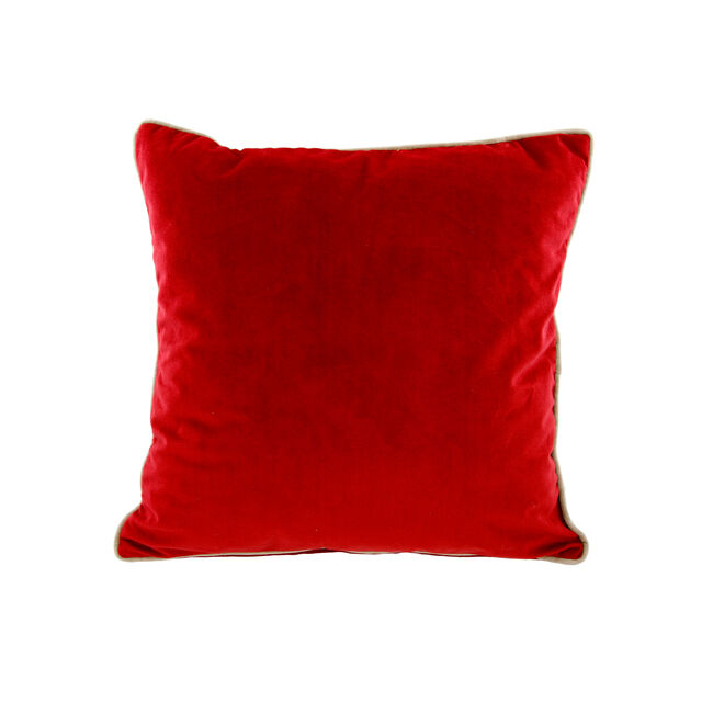 Naomi Cushion 45x45cm - Red