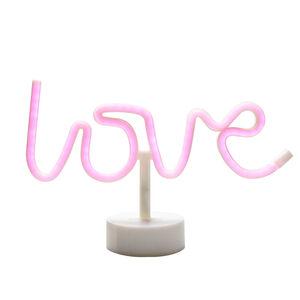 Love Neon Table Light