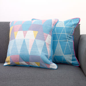 Triangle Spot Cushion Cover 2 Pack 45x45cm